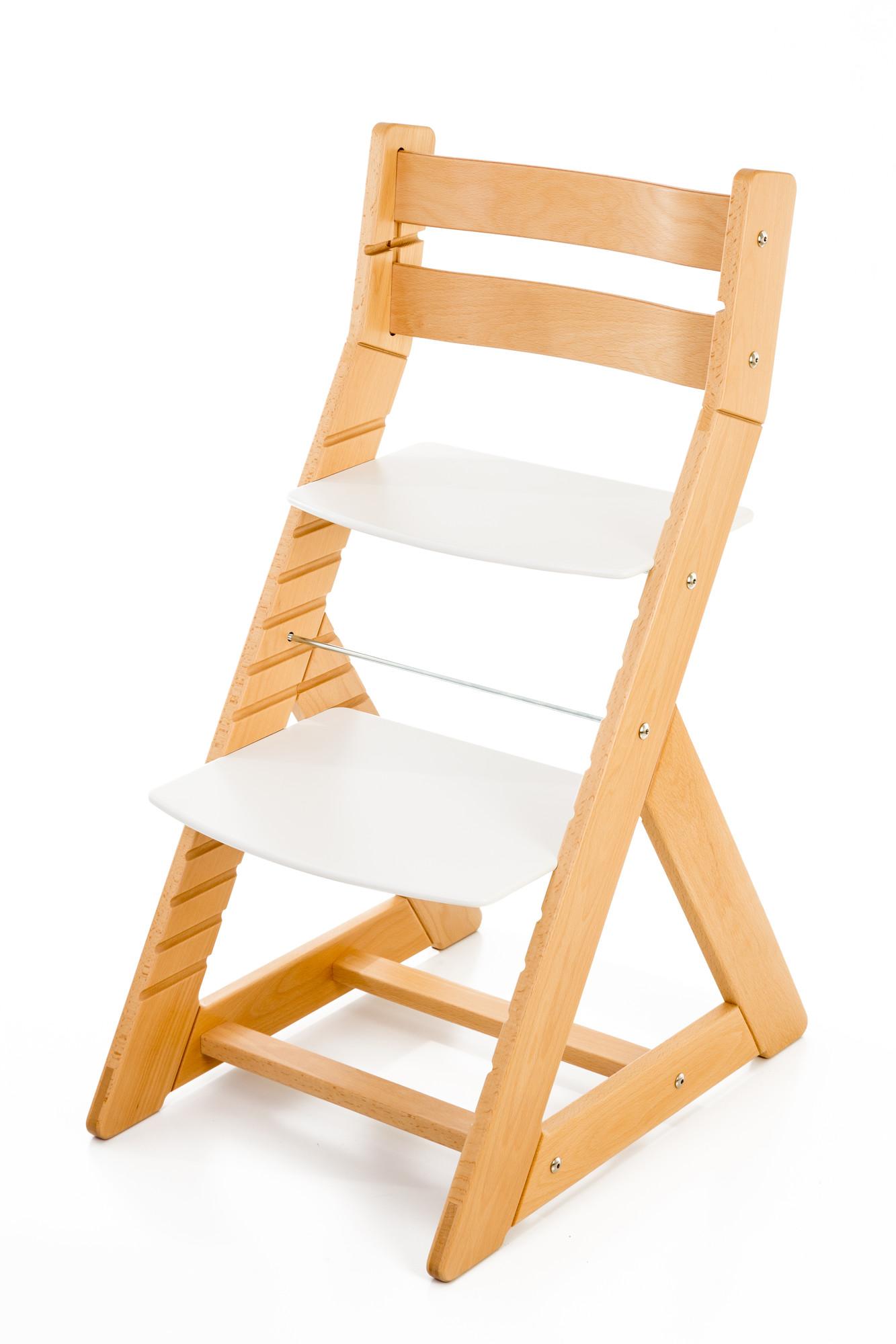 Hajdalánek Rostoucí židle ALMA - standard (buk, bílá)