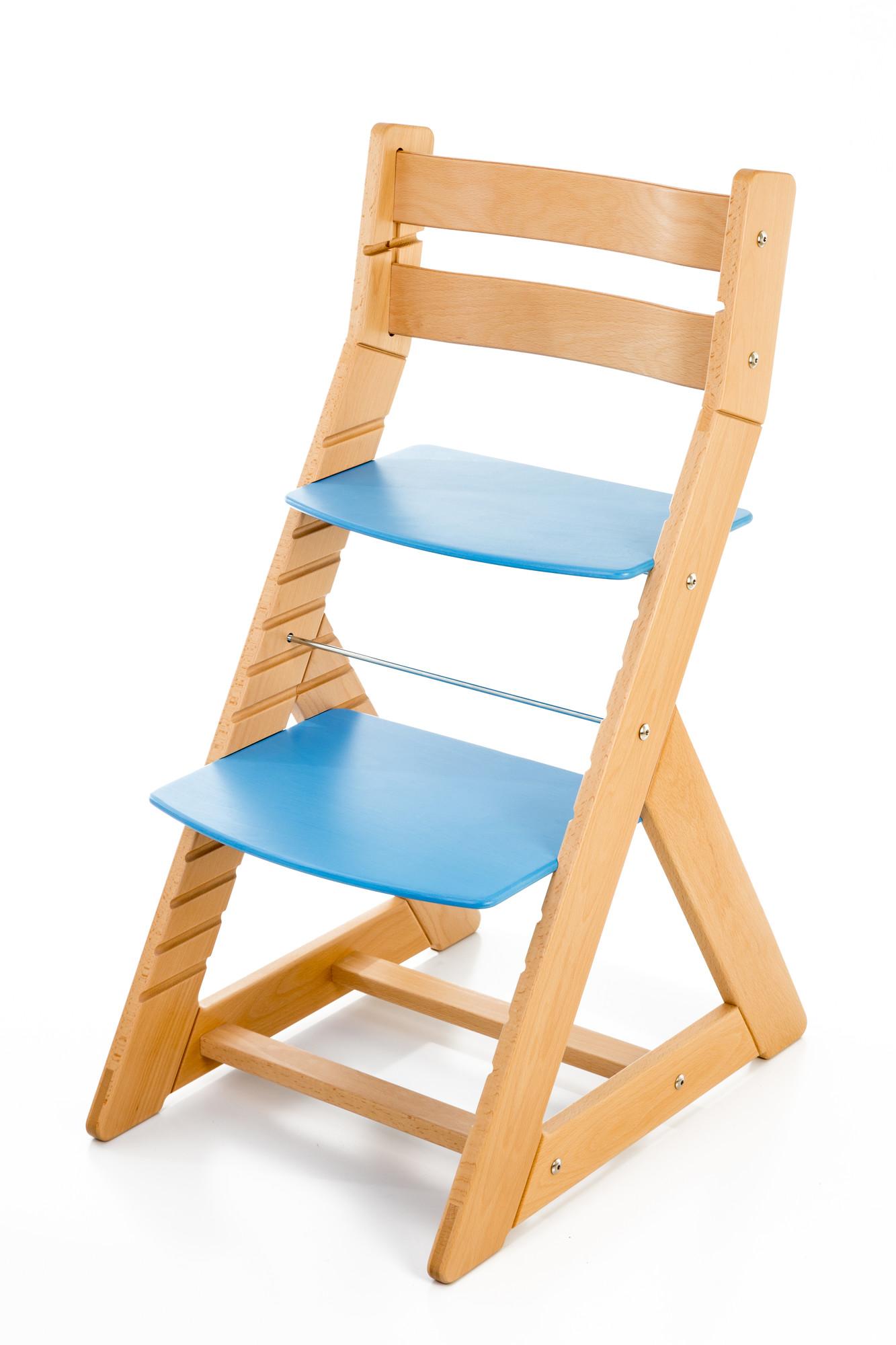 Hajdalánek Rostoucí židle ALMA - standard (buk, modrá)
