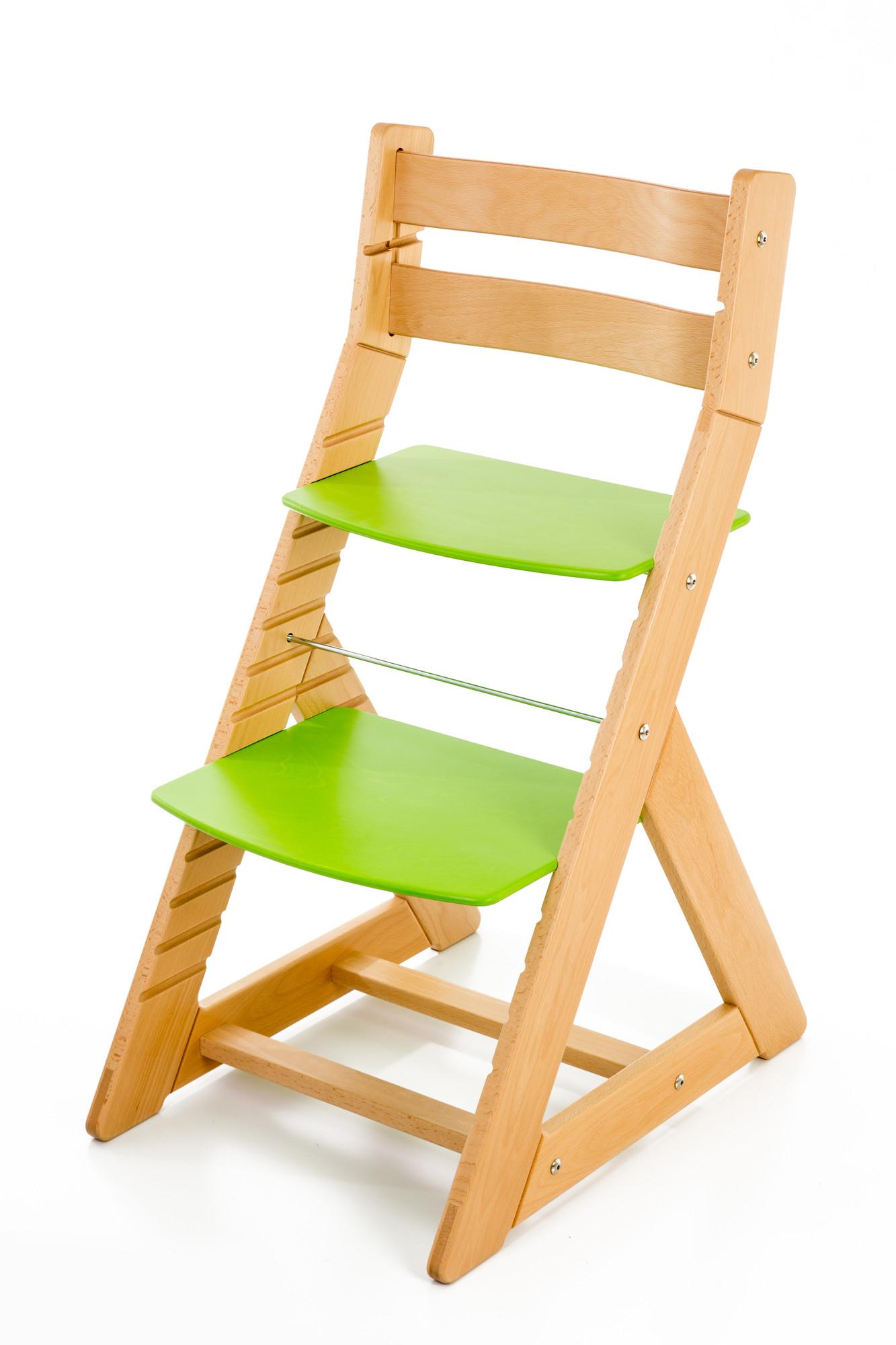 Hajdalánek Rostoucí židle ALMA - standard (buk, zelená)