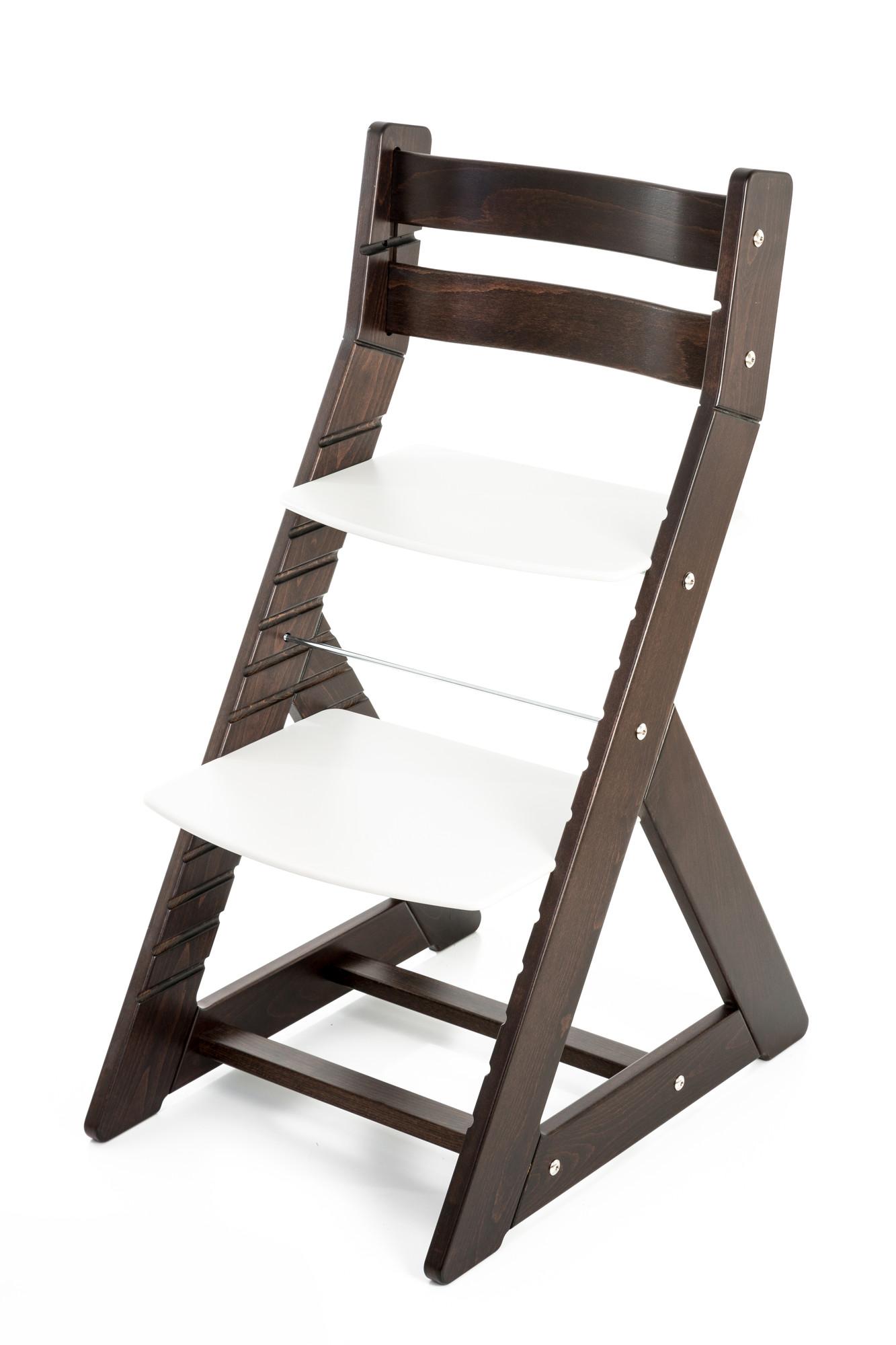 Hajdalánek Rostoucí židle ALMA - standard (wenge, bílá)