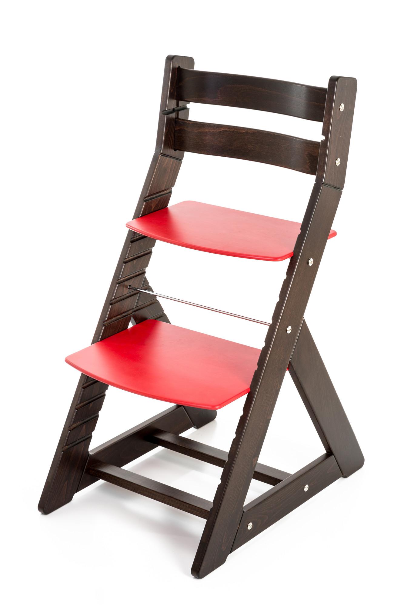 Hajdalánek Rostoucí židle ALMA - standard (wenge, červená)