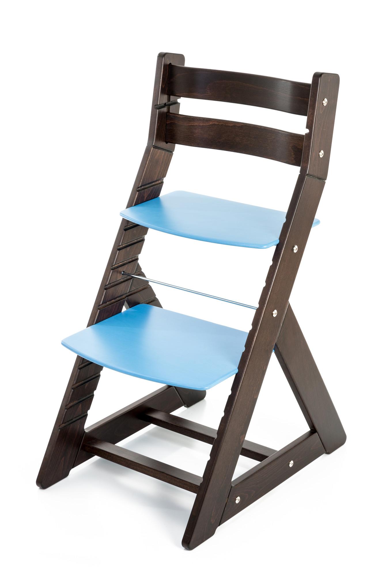 Hajdalánek Rostoucí židle ALMA - standard (wenge, modrá)
