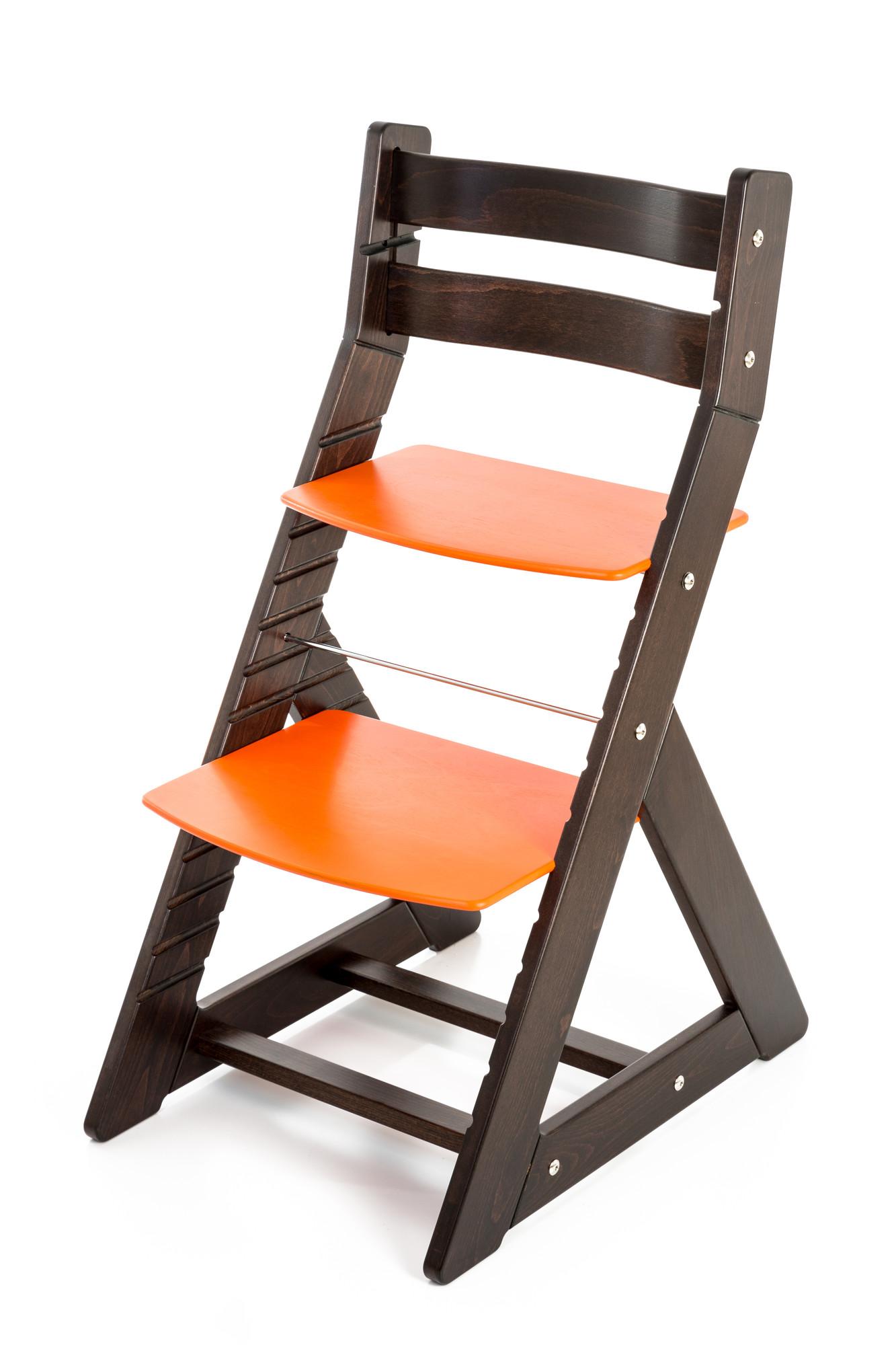Hajdalánek Rostoucí židle ALMA - standard (wenge, oranžová)