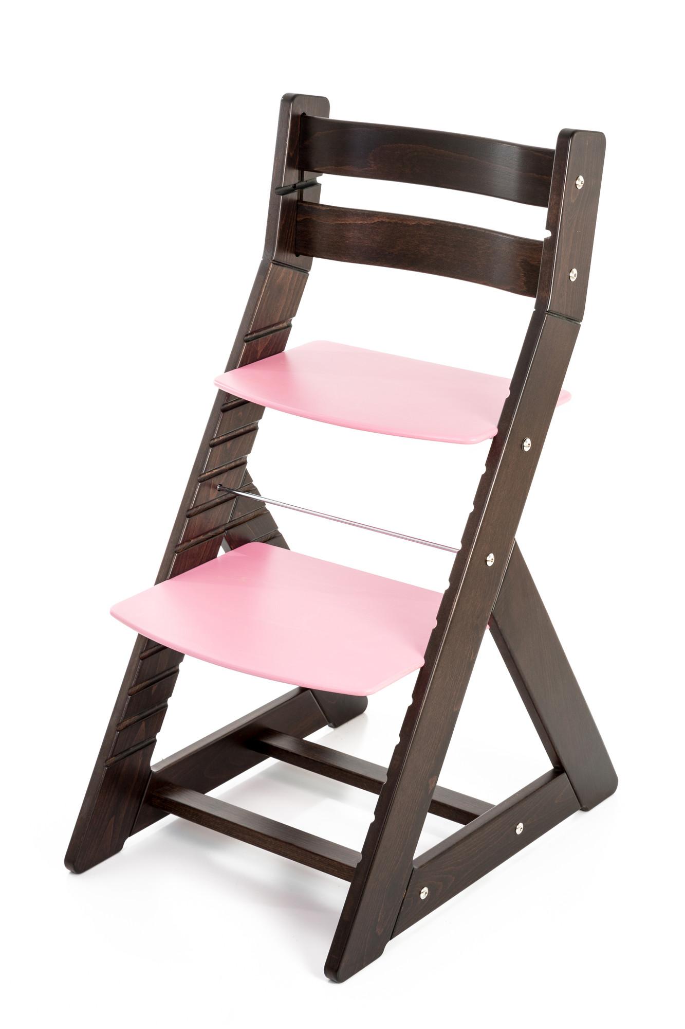 Hajdalánek Rostoucí židle ALMA - standard (wenge, růžová)