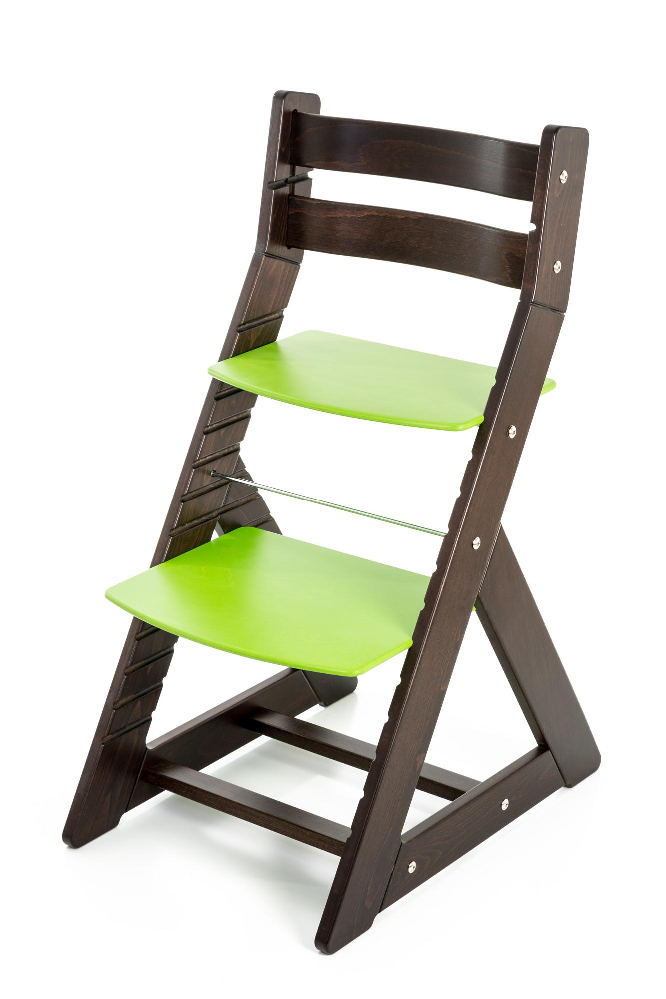 Hajdalánek Rostoucí židle ALMA - standard (wenge, zelená)