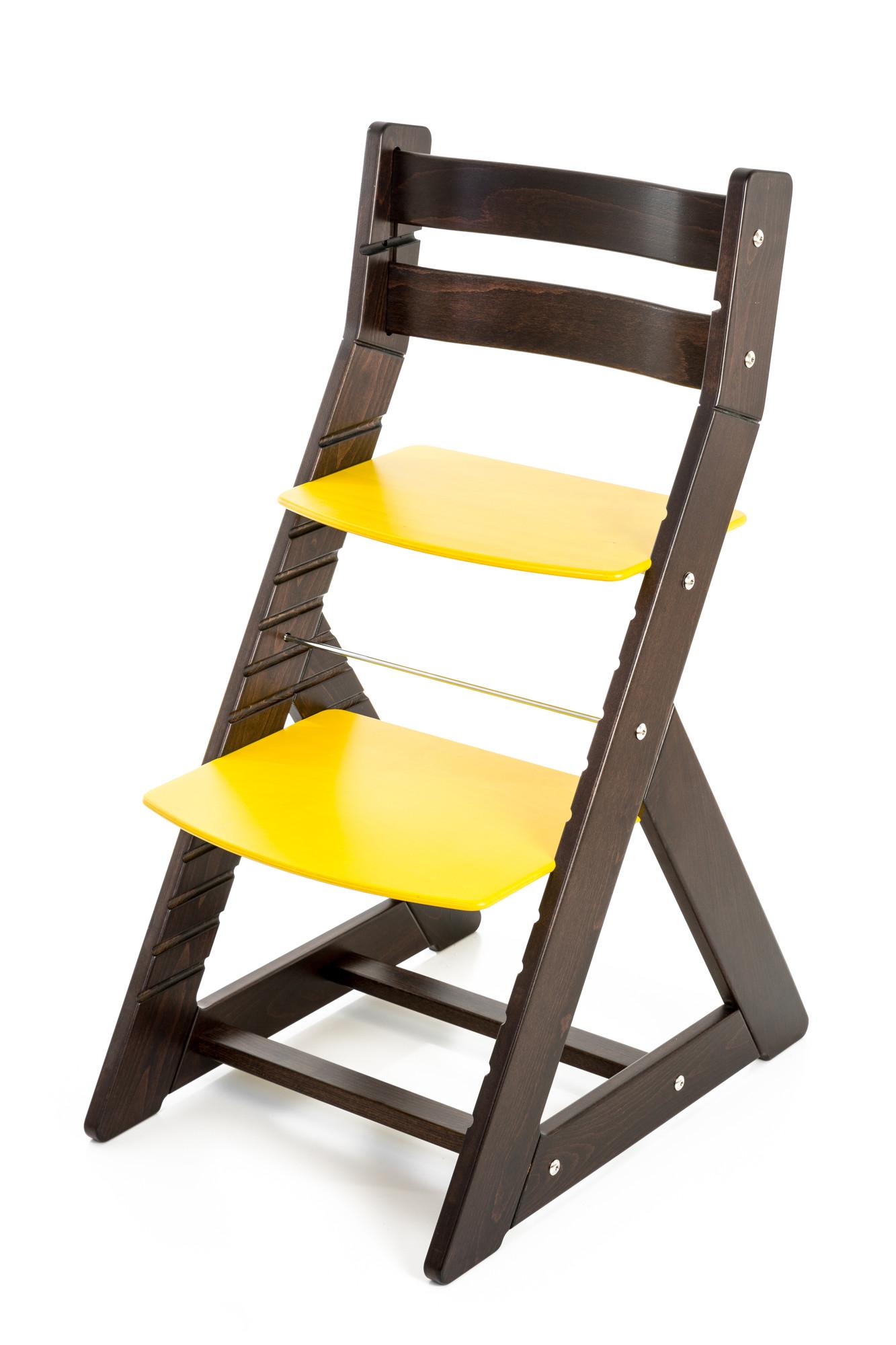 Hajdalánek Rostoucí židle ALMA - standard (wenge, žlutá)