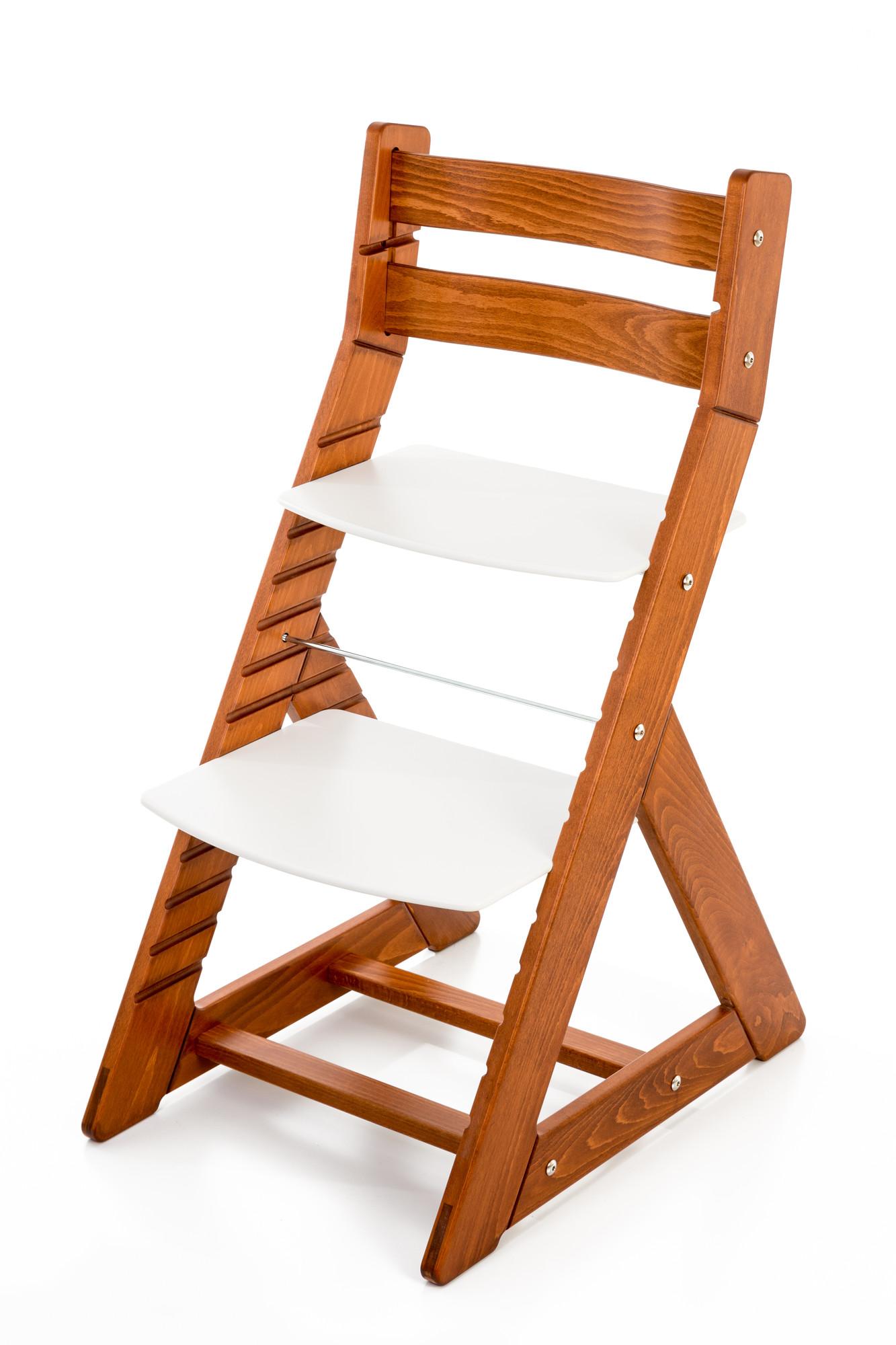 Hajdalánek Rostoucí židle ALMA - standard (třešeň, bílá)