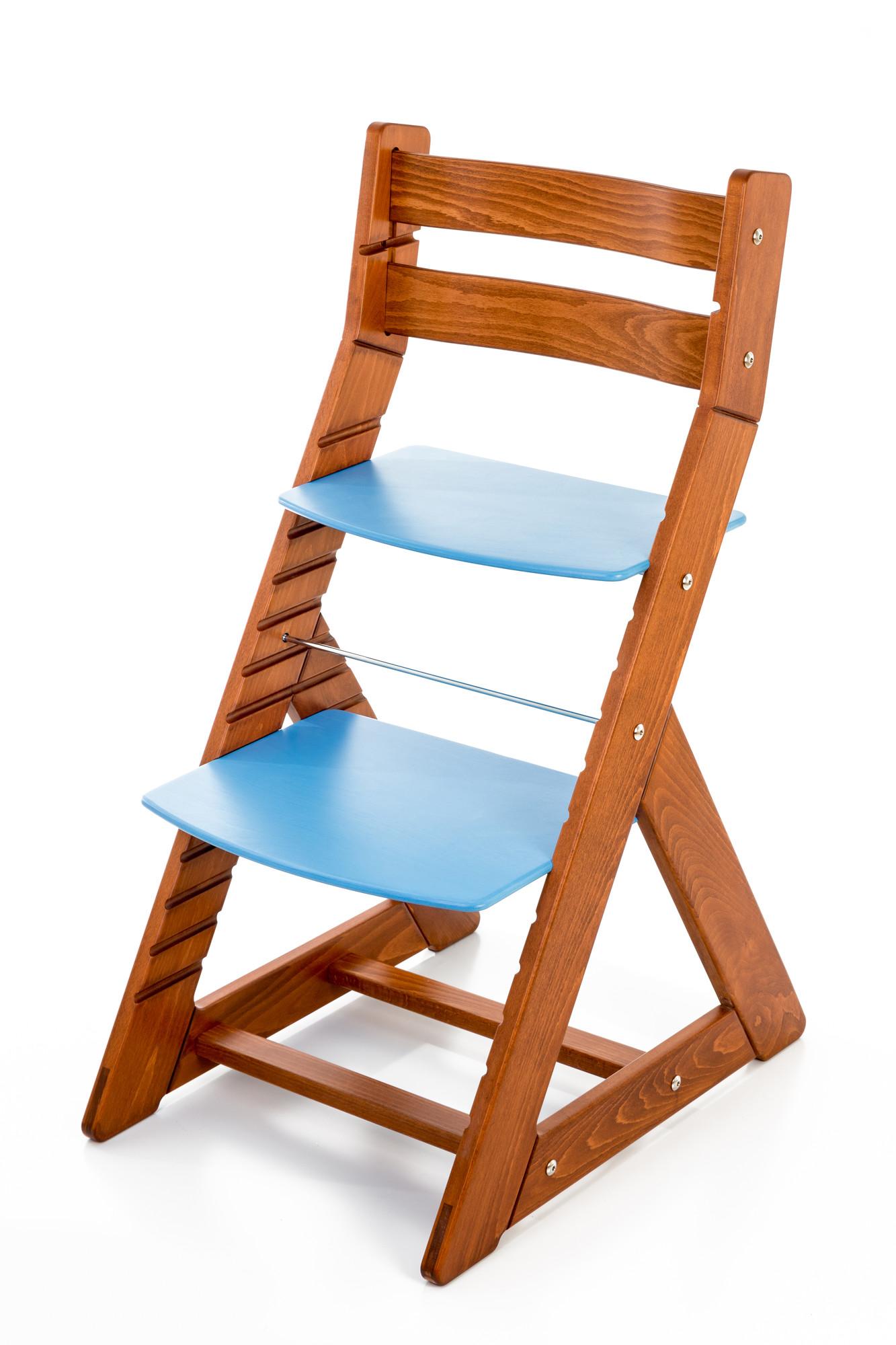 Hajdalánek Rostoucí židle ALMA - standard (třešeň, modrá)