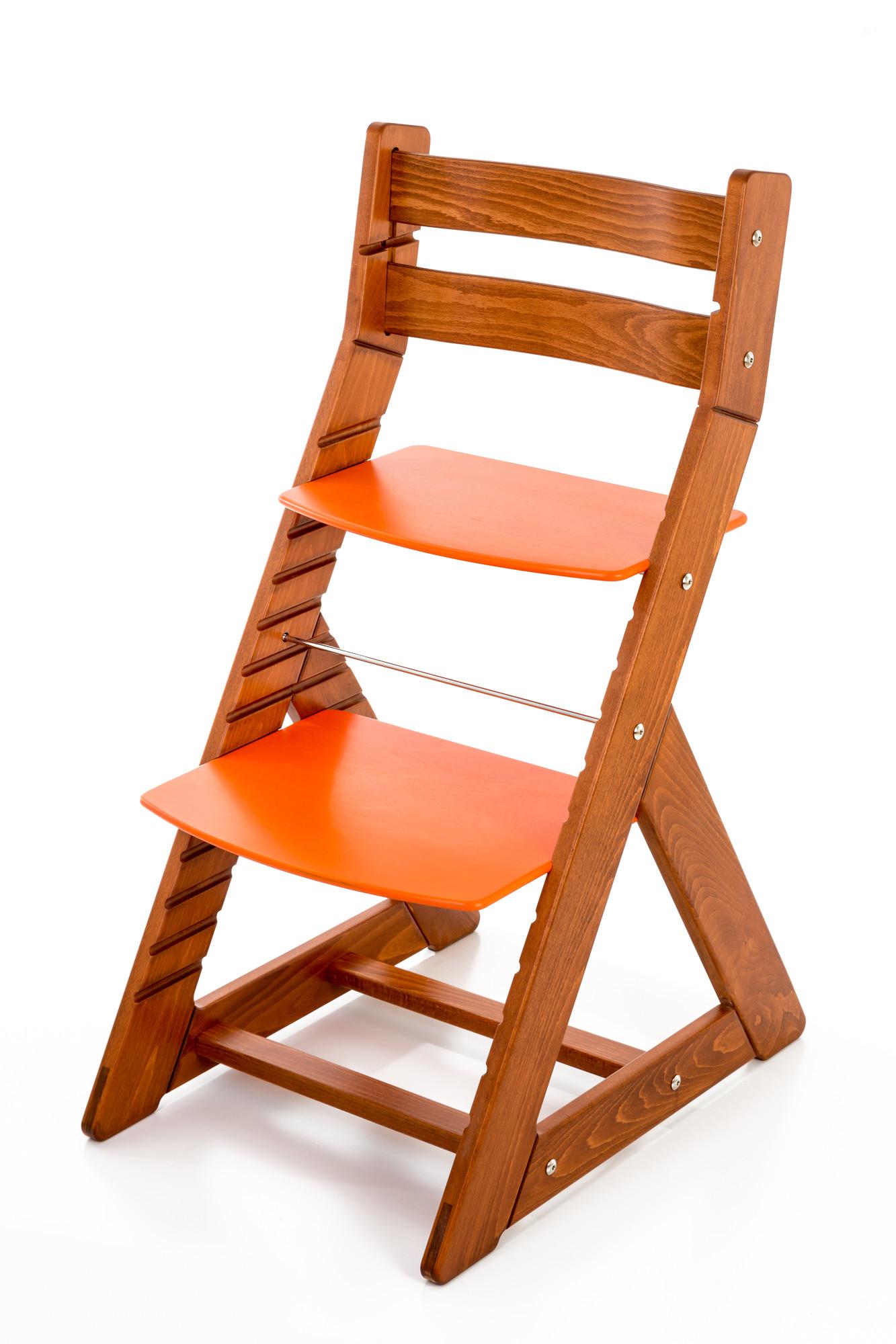 Hajdalánek Rostoucí židle ALMA - standard (třešeň, oranžová)