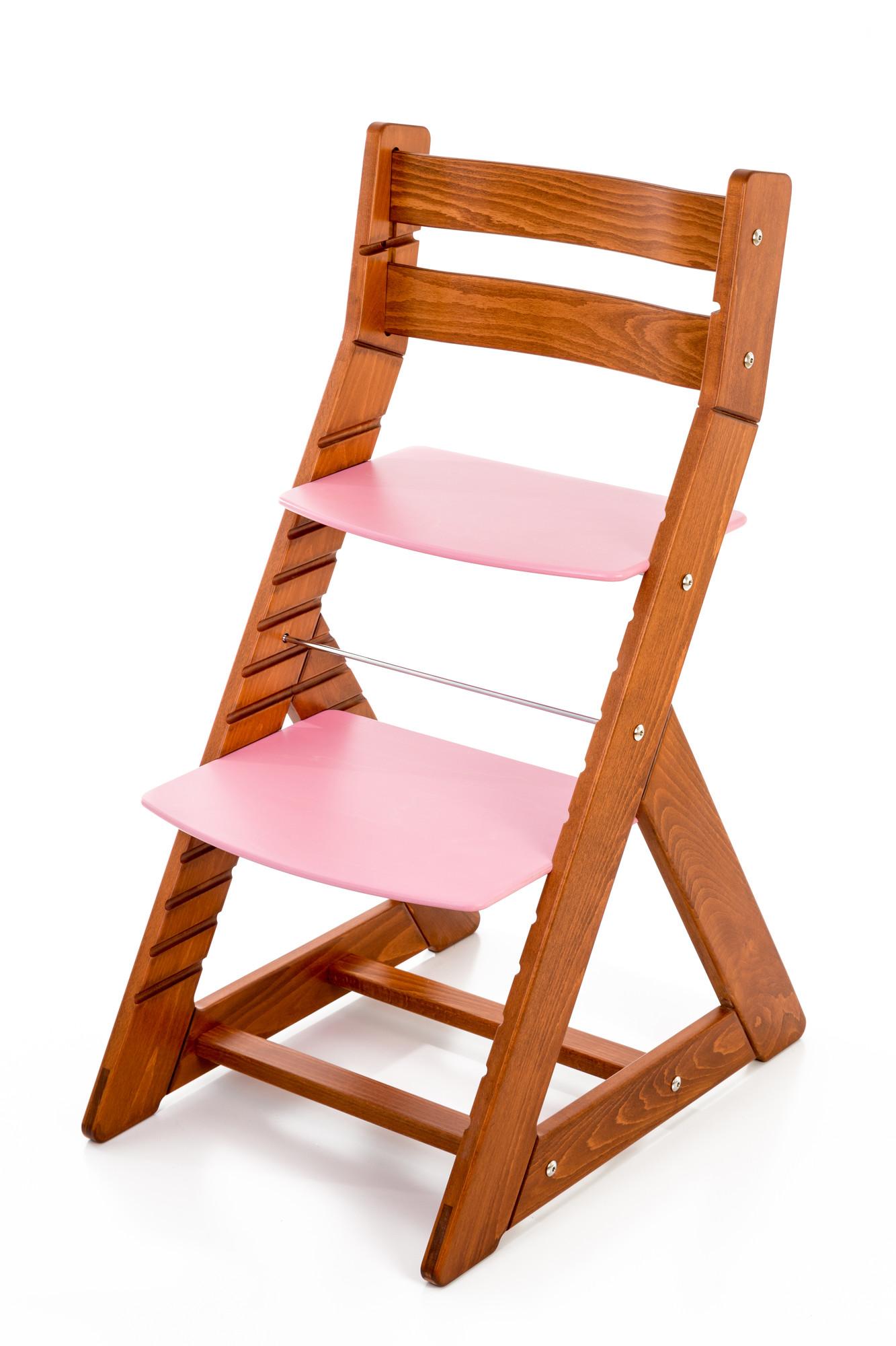 Hajdalánek Rostoucí židle ALMA - standard (třešeň, růžová)