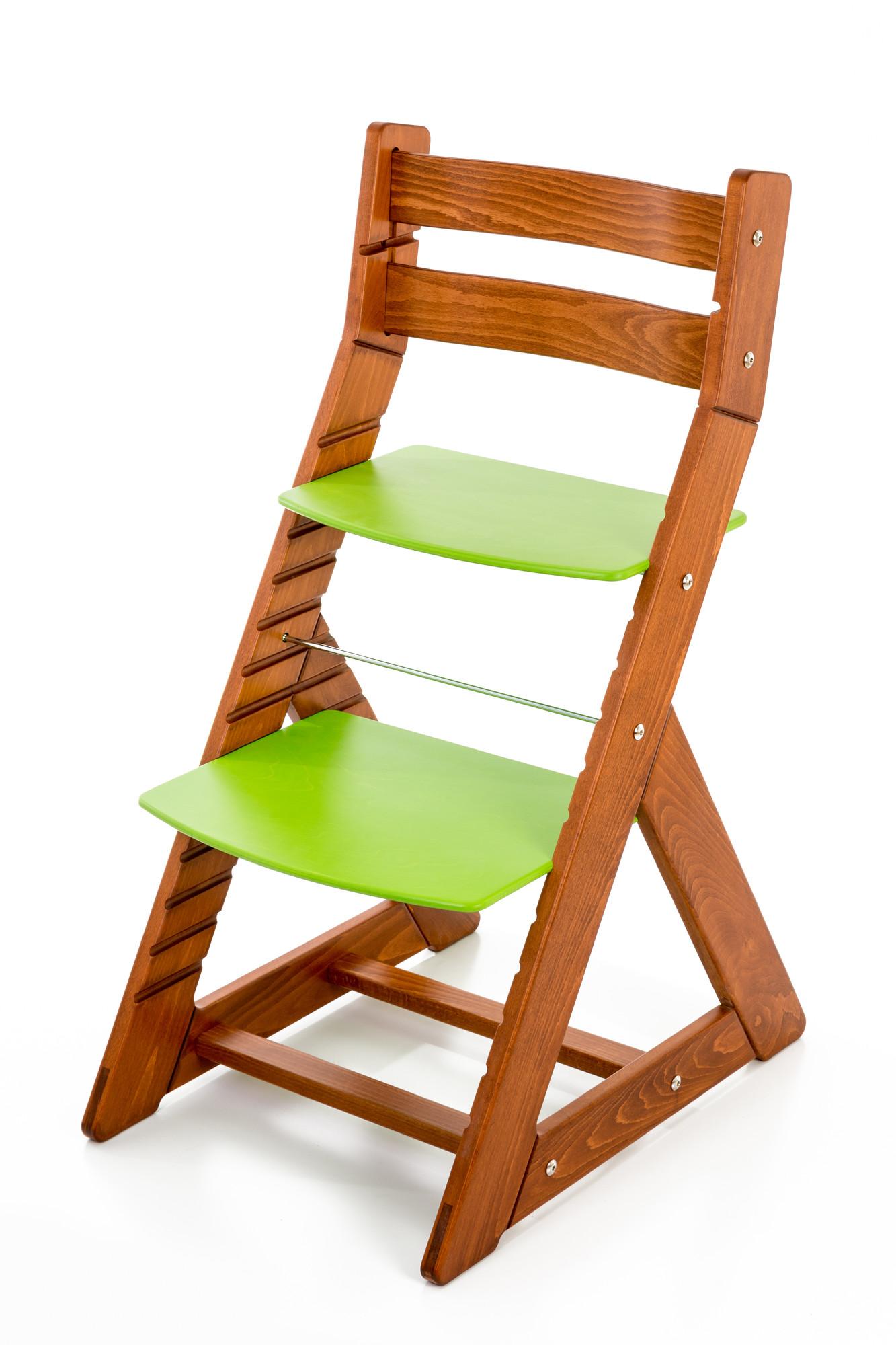 Hajdalánek Rostoucí židle ALMA - standard (třešeň, zelená)