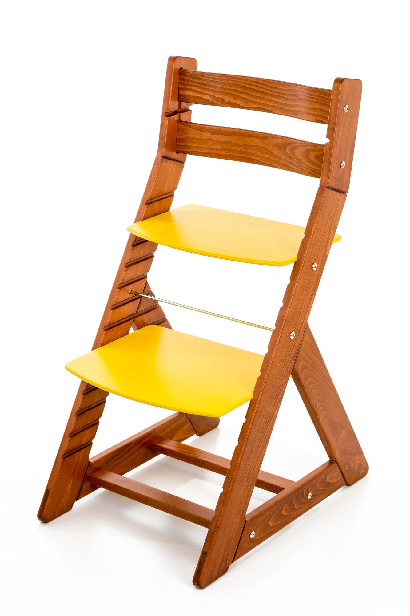 Hajdalánek Rostoucí židle ALMA - standard (třešeň, žlutá)