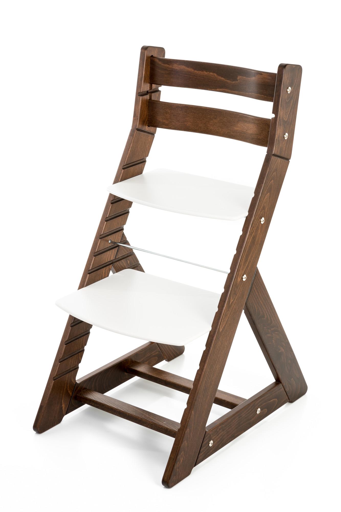 Hajdalánek Rostoucí židle ALMA - standard (ořech, bílá)