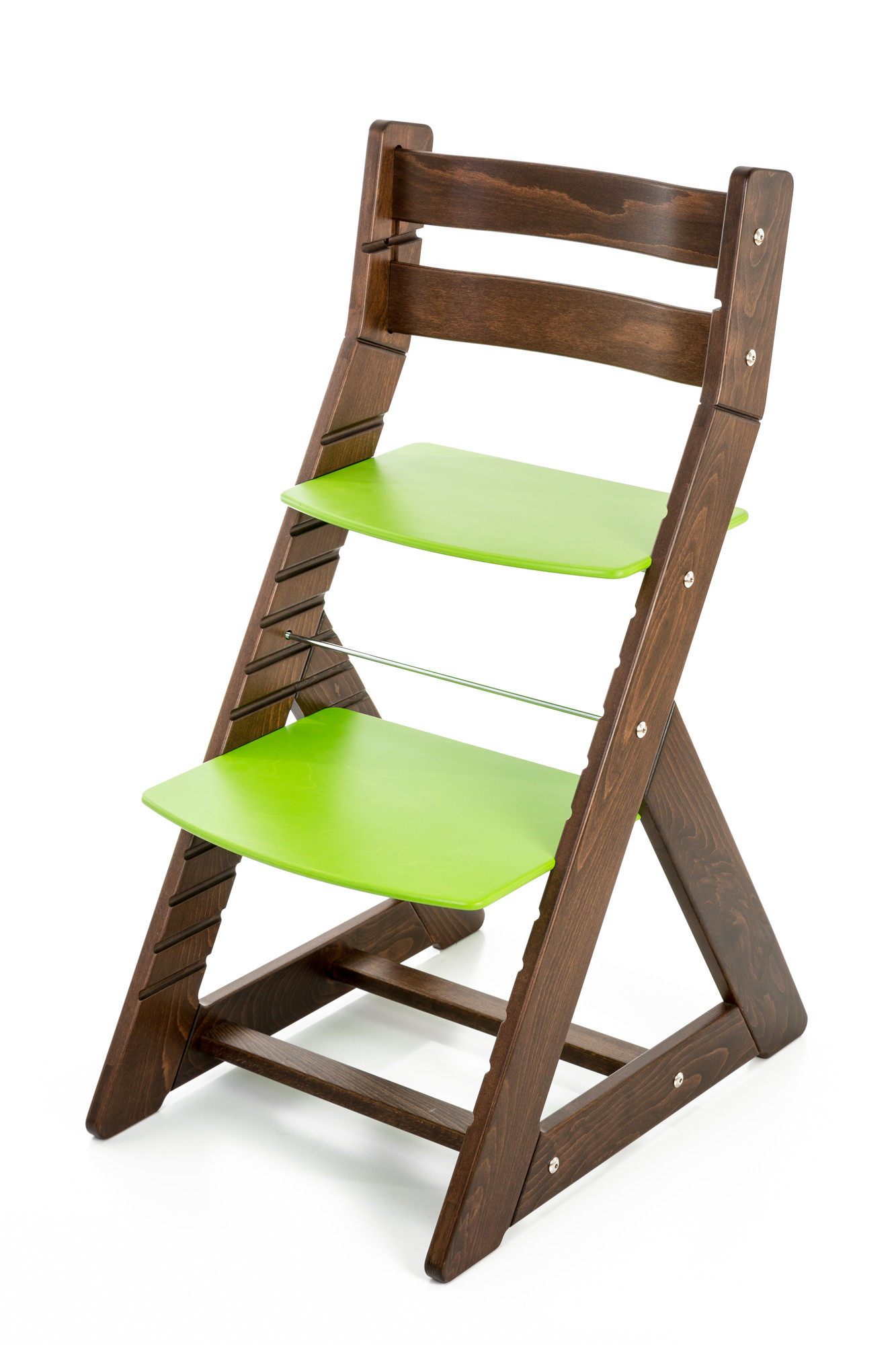 Hajdalánek Rostoucí židle ALMA - standard (ořech, zelená)