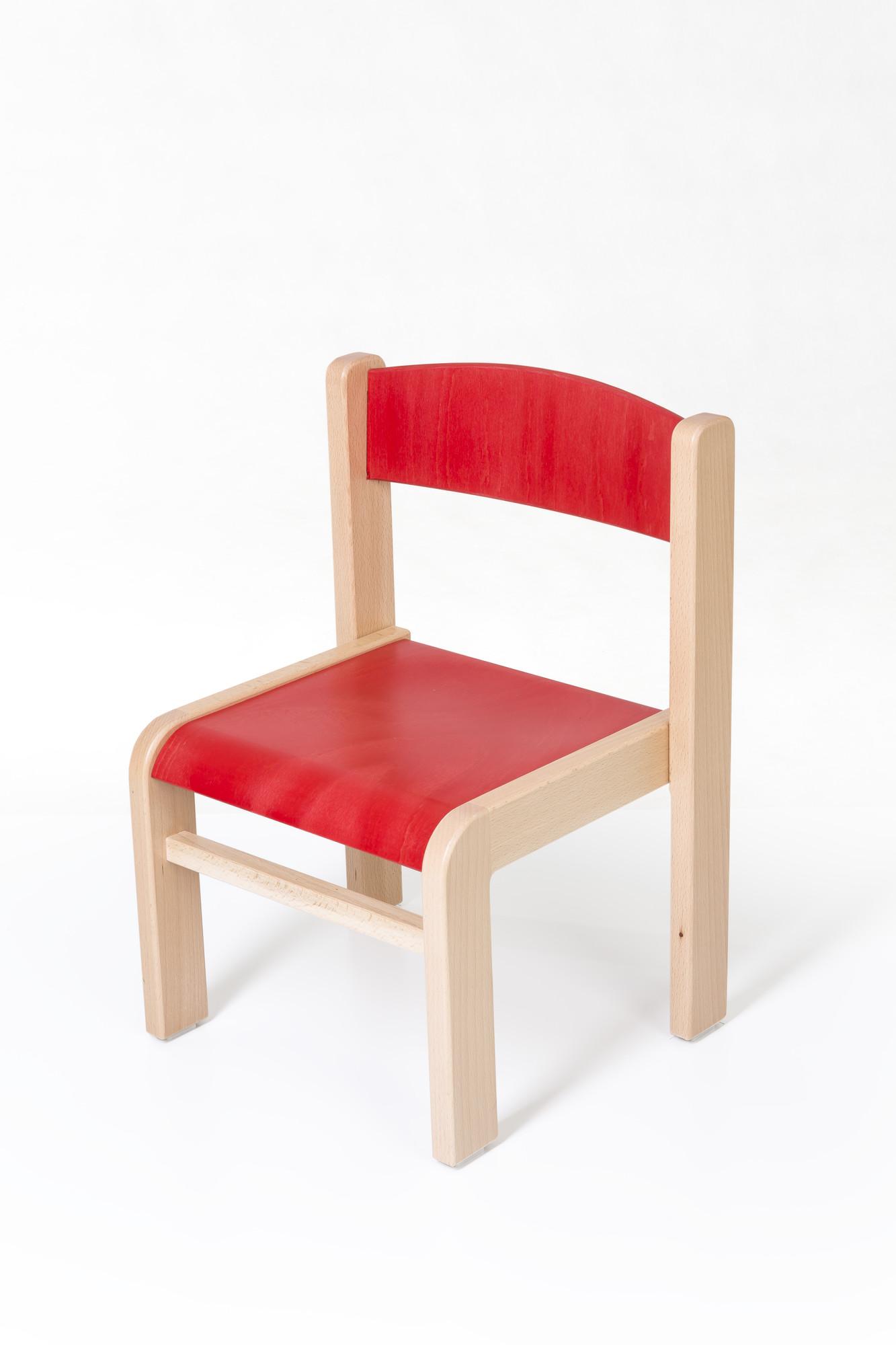 Hajdalánek Dětská židlička Luca (červená)