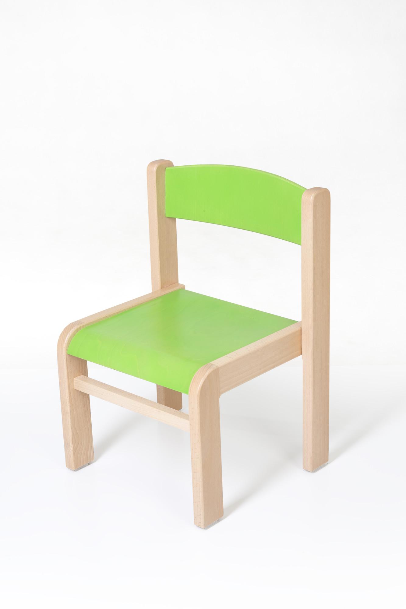 Hajdalánek Dětská židlička Luca (zelená)