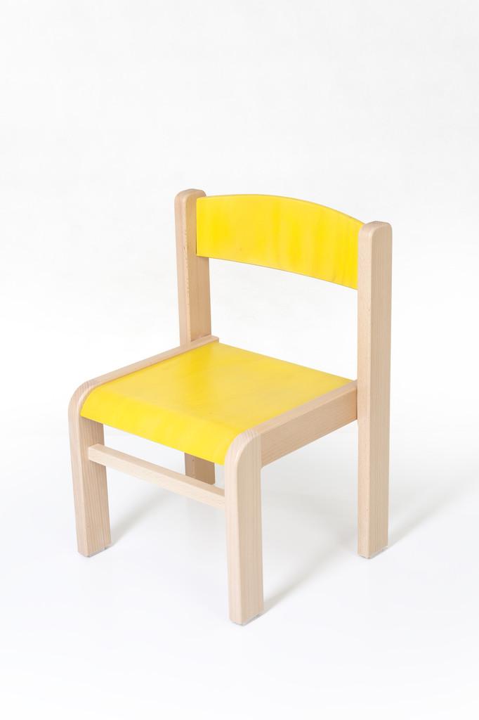 bb637bfd5646 Dětská židlička LUCA s tvarovanou opěrkou zad