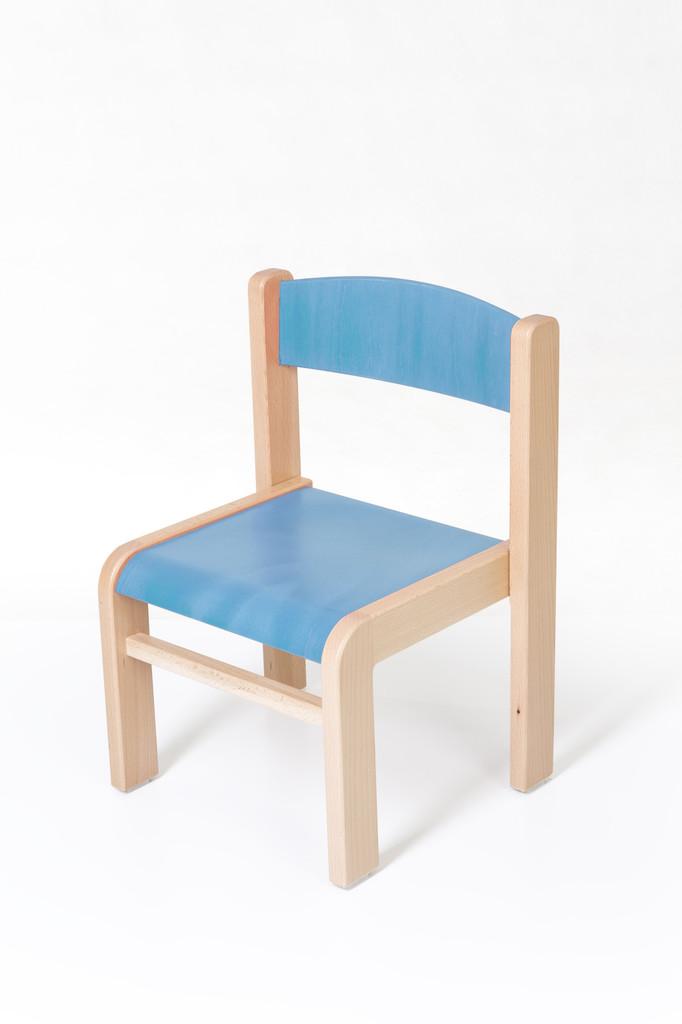 d82fcbad863f Dětská židlička LUCA s tvarovanou opěrkou zad