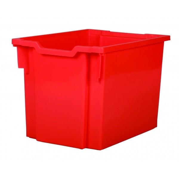 Gratnells Plastový kontejner jumbo (červená)