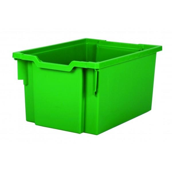 Gratnells Plastový kontejner vysoký (zelená)