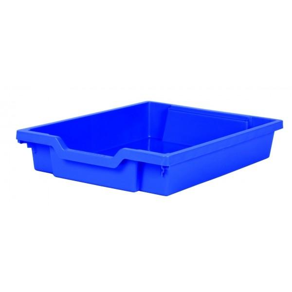 Gratnells Plastový kontejner nízký (modrá)