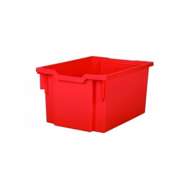 Gratnells Plastový kontejner vysoký (červená)