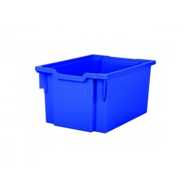 Gratnells Plastový kontejner vysoký (modrá)