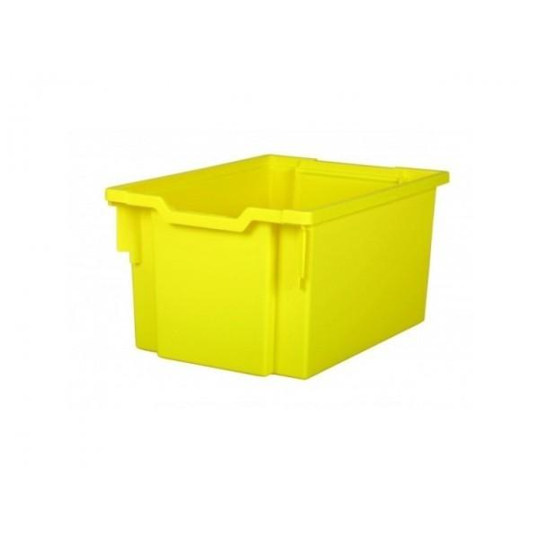 Gratnells Plastový kontejner vysoký (žlutá)