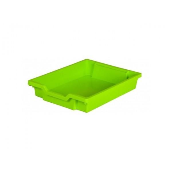 Gratnells Plastový kontejner nízký (limetka)