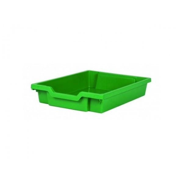 Gratnells Plastový kontejner nízký (zelená)
